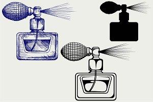 Perfume bottle SVG