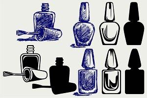 Nail polish SVG