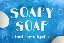 Soapy Soap Typeface