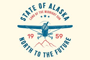 Alaska tee design