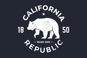California tee design