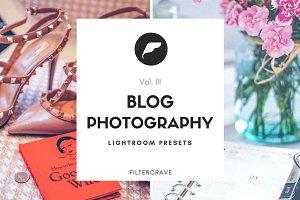 Blog Photo Lightroom Presets III