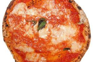 Pizza Margherita transparent PNG