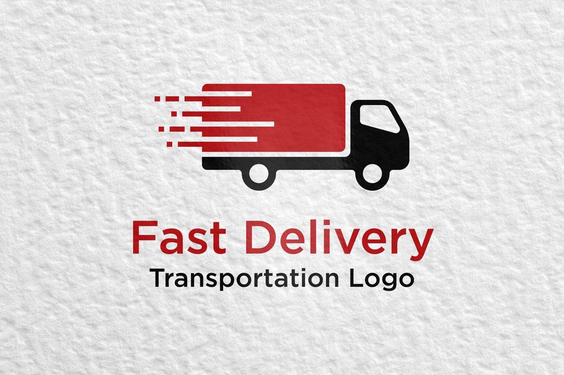 Fast Delivery Logo ~ Logo Templates ~ Creative Market