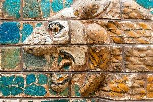 Fragment of Babylonian Ishtar Gate