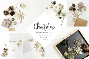 Christmas Styled Photo Bundle #01