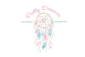 Dream Catcher Logo Template