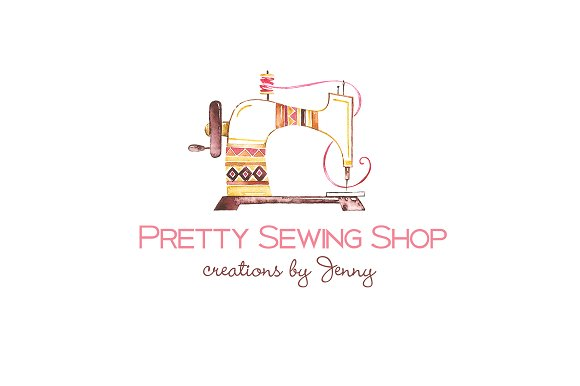Tribal Sewing Logo Template