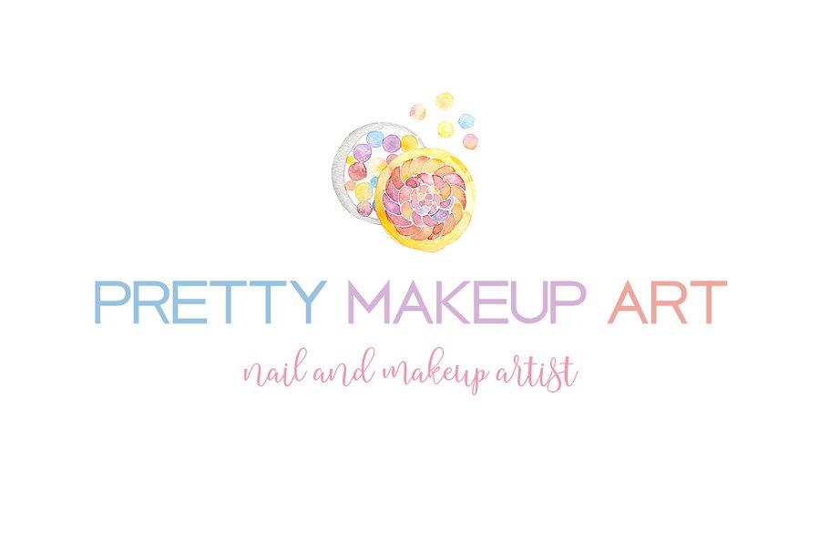 Makeup Artist Logo Template
