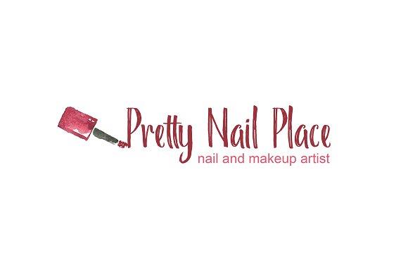 Nail Artist Logo Template in Logo Templates