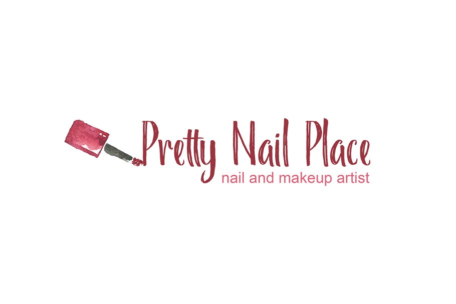 Nail Artist Logo Template in Logo Templates - product preview 8