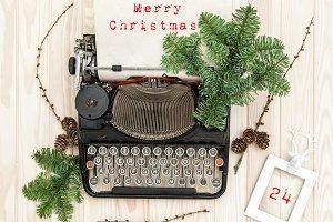 Christmas decoration Instagram style