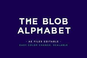 The blob alphabet