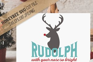 Rudolph Nose So Bright