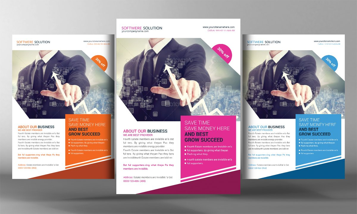 software product brochure template - software house flyer template flyer templates creative