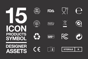 Designer Assets Vol1 : Icon/Symbol