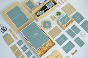 Wedding Invitation Branding Mockups