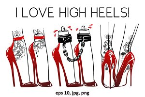 I Love High Heels!