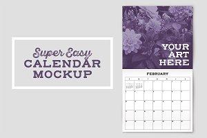 Calendar Mockup Template