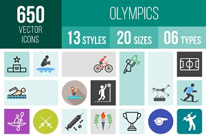 650 Olympics Icons