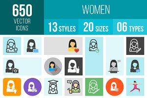 650 Women Icons