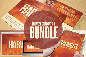 Harvest Celebration Template Bundle