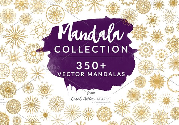 Mandala Collection in Illustrations