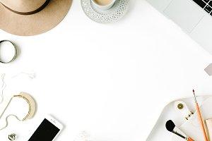 Feminine accessories frame