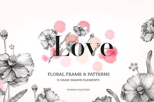 """Love"" floral collection"