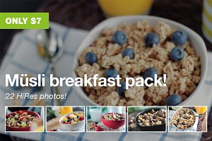 Müsli breakfast pack!