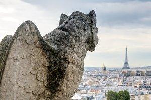 Chimera of Notre Dame de Paris