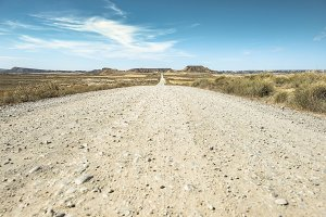 Wild west dirt road