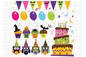 Holloween Party ClipArt