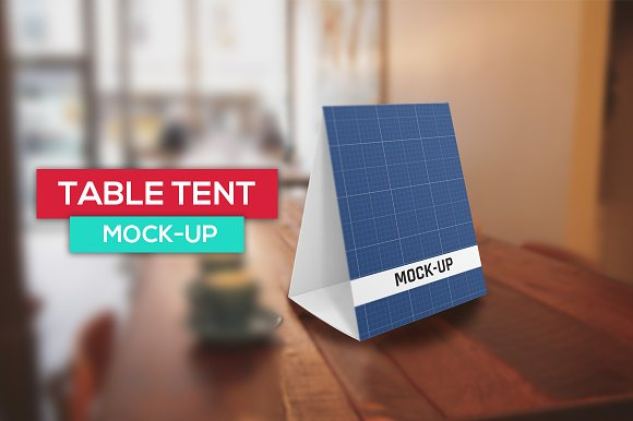 table tent mockup product mockups creative market
