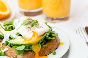 Poached Eggs for Breakfast