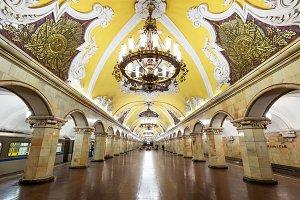 Metro station Komsomolskaya, Moscow