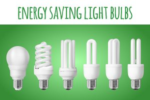 6 energy saving light bulbs