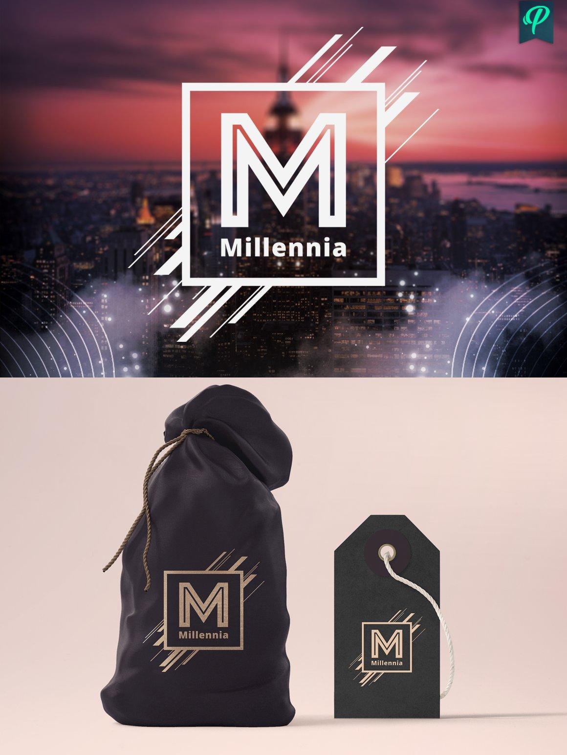 5 modern typography logo templates logo templates creative market