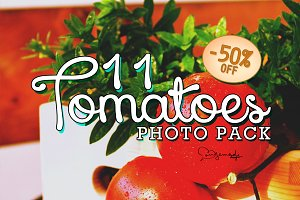 50%Off ● 11 Tomatoes Photo Pack