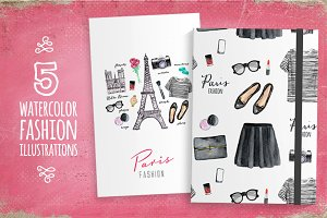 Paris style (fashion illustrations)