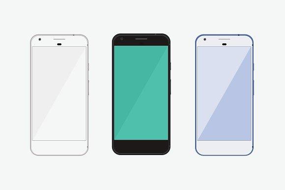 Download Google Pixel Phone Mockup
