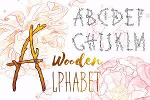 Monogram Boho Alphabet Letters