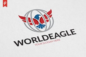 World Eagle Logo