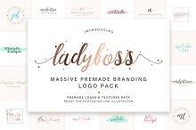 Ladyboss Premade Branding Logo Pack