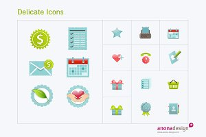 Delicate Icons