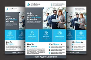 Corporate Flyer Print Templates