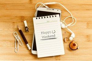 Happy Weekend smiling