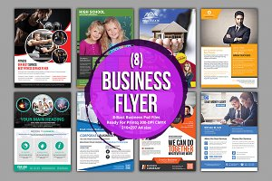 (8) Corporate Business Flyer Bundle