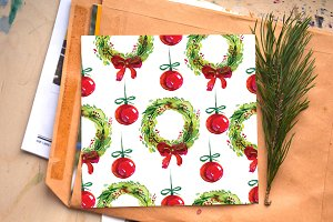 christmas seampless patterns
