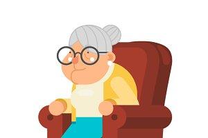 Sit Rest Granny